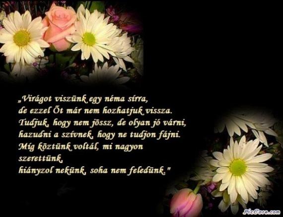 búcsúztató idézetek temetésre GYÁSZVERSEK!