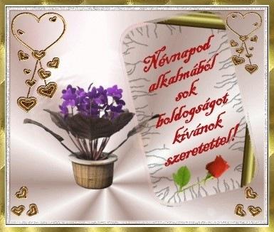 boldog névnapot kívánok neked Áldott Névnapot Kívánok Neked   MuzicaDL boldog névnapot kívánok neked